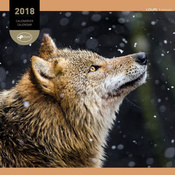 Calendrier 2018 Loups
