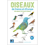 Oiseaux de France et d'Europe + CD