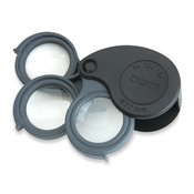 Set de 3 loupes de poche 5x-15x