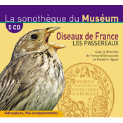 Coffret 5 CD Passereaux de France