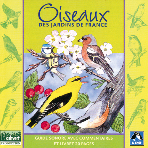 cd oiseaux des jardins de france guides sonores oiseaux boutique lpo ensemble pr servons. Black Bedroom Furniture Sets. Home Design Ideas